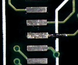 Repairing a Damaged Pad on a PCB