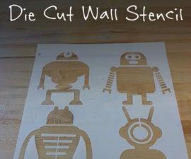 Die Cut Wall Stencil