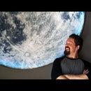 Easy Giant LED Backlit Moon