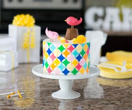 Decorated Party Cake