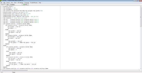 Configuring the Programs (Glovepie)