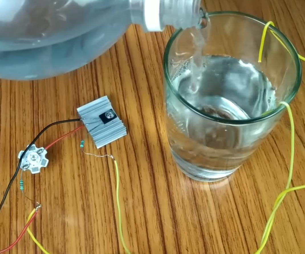 Water Level Alarm Using Transistor 6 Steps Simple Indicator Transistors