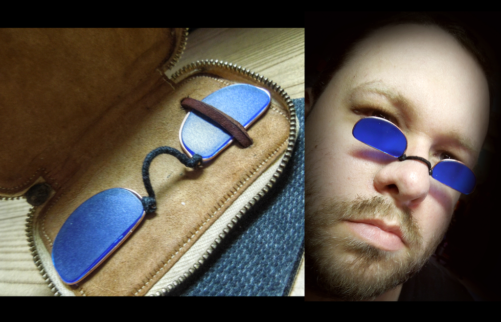 Picture of Blue Spectacles
