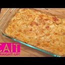 French Onion Potatoes Au Gratin - Homemade Scalloped Potatoes