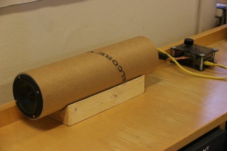 Recycled Speaker Casing and RPi2 Music Player