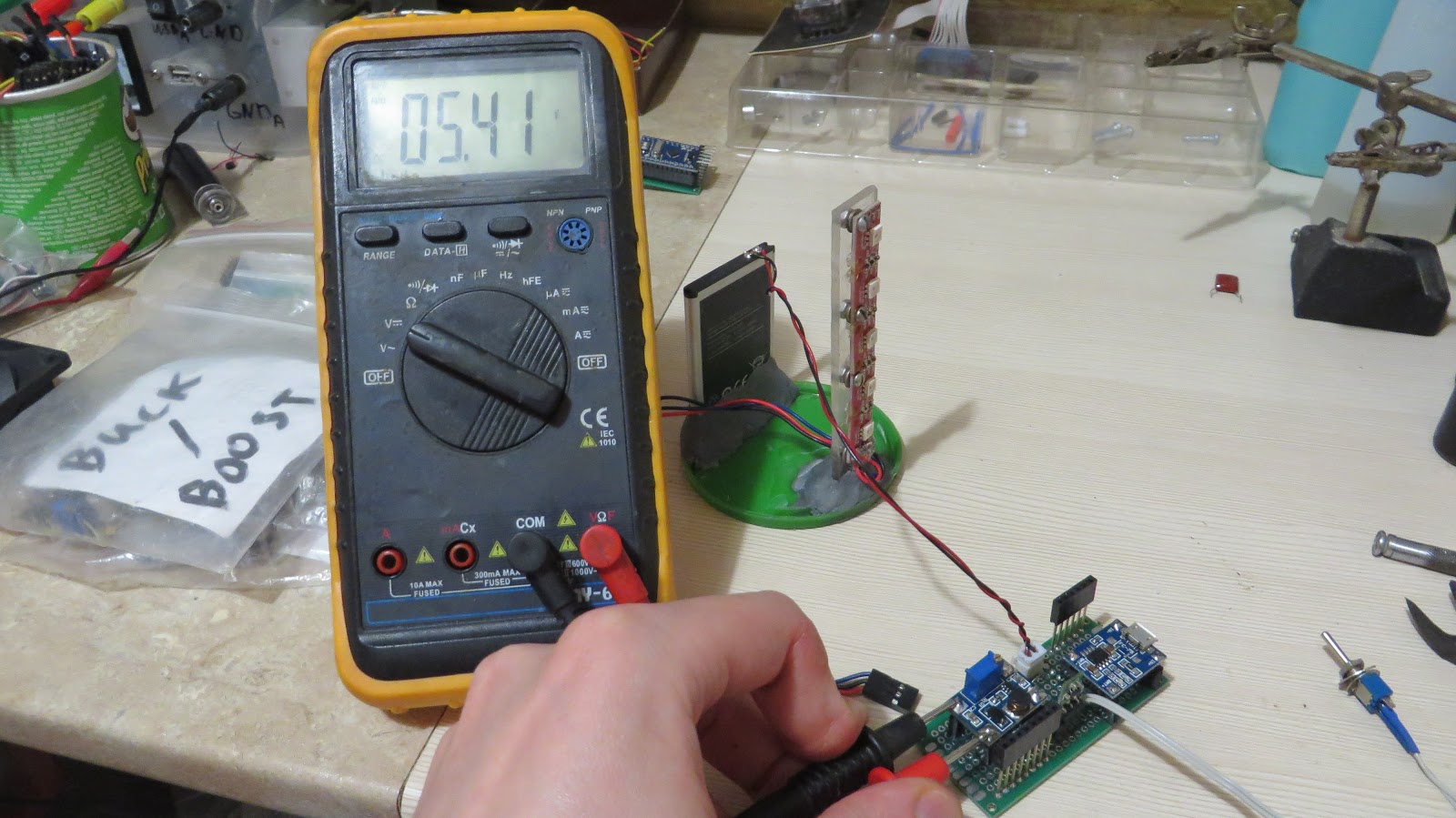 Picture of Assembly: Soldering the Circuit Board(s).