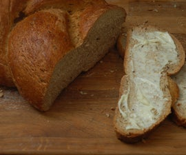 easy rye bread with caraway seeds
