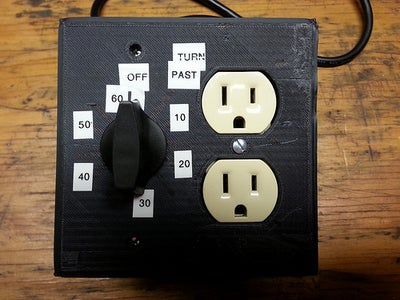 Outlet With a Timer