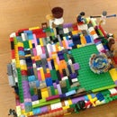 How to Make a Beyblade Stadium With Legos