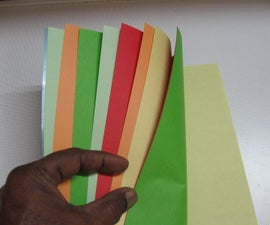 How to Make a Colourful Scrapbook