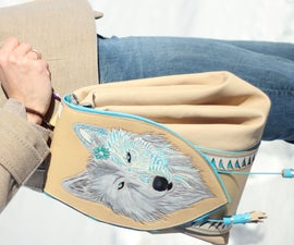 """The Wolf Backpack"" OR How to make a convertible bag"