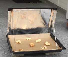 Simple Solar dehydrator  e.g. fruit leather or apple chips