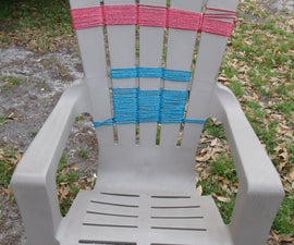 Chair rescue or how to save landfill space