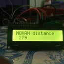 DISTANCE MEASUREMENT AND LCD DISPLAY BY ARDUINO