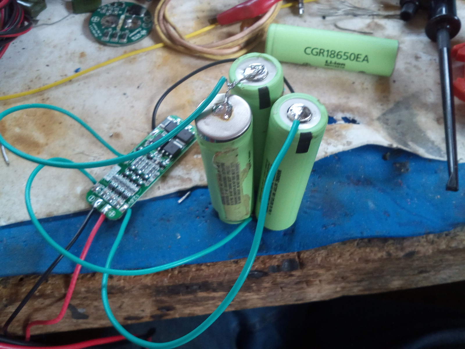 Picture of Fit the New Lithium Ion Batteries in and Test
