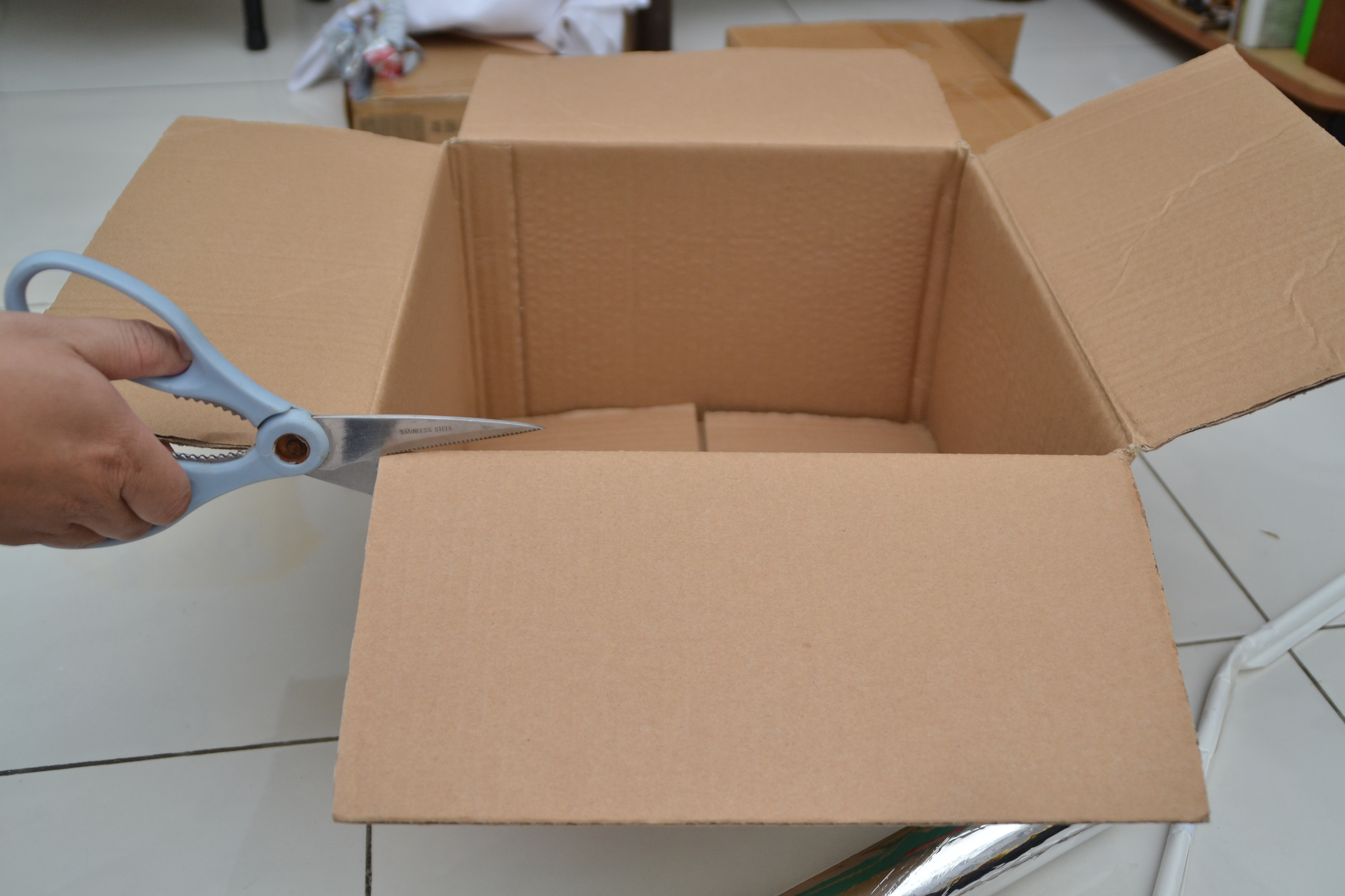 Picture of Building the Box Version: External Box