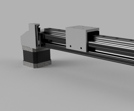 Generic Linear Actuator With Built-in Tension Spring