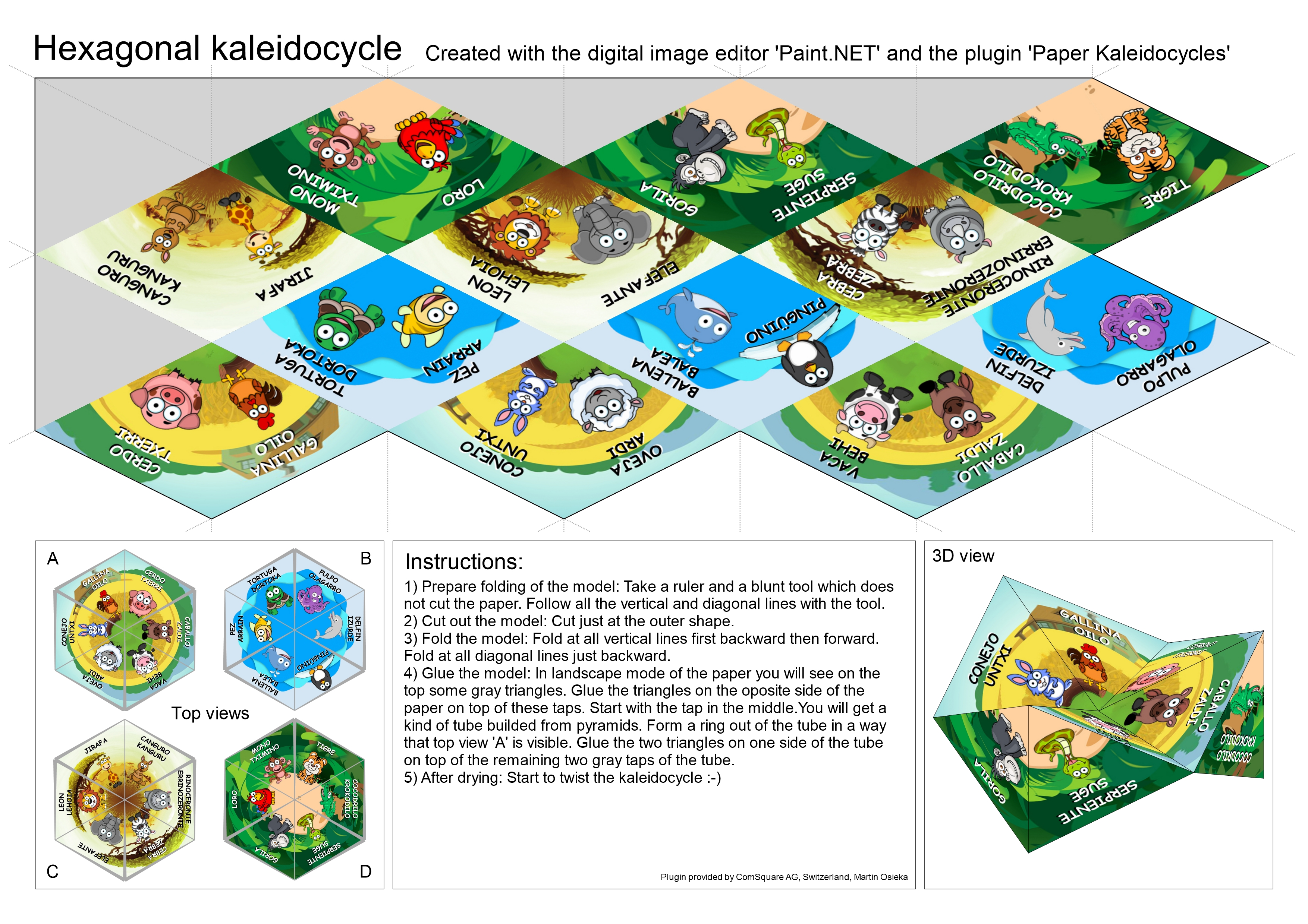 Picture of Making the Kaleidocycle
