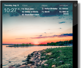 DAKboard: A wifi connected wall display for your photos, calendar, news and weather