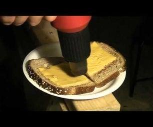 HeatGun Cooking- Grilled Cheese Sandwich