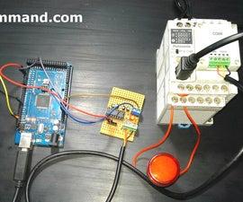 Arduino Writing Mewtocol Protocol From PLC'S Panasonic