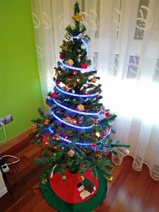 Treelegram - Hack a Christmas Tree Lights From Anywhere in the World!