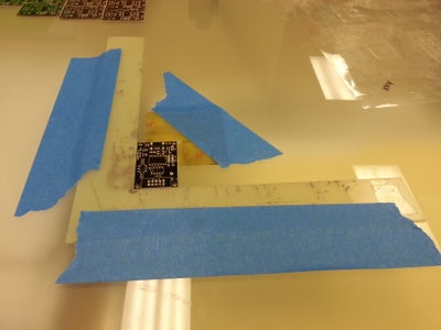 Aligning the PCB
