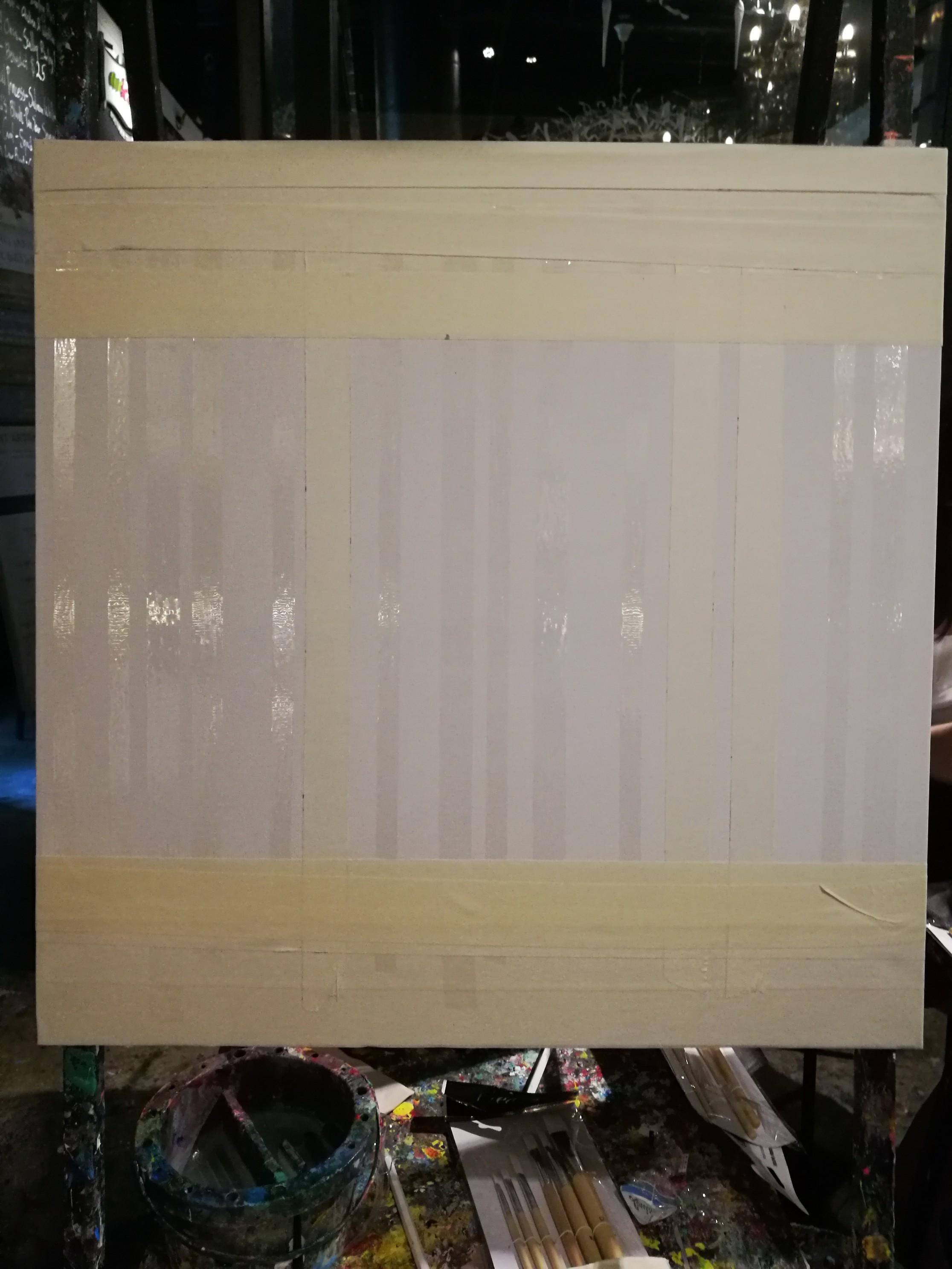 Picture of Prepare the Canvas