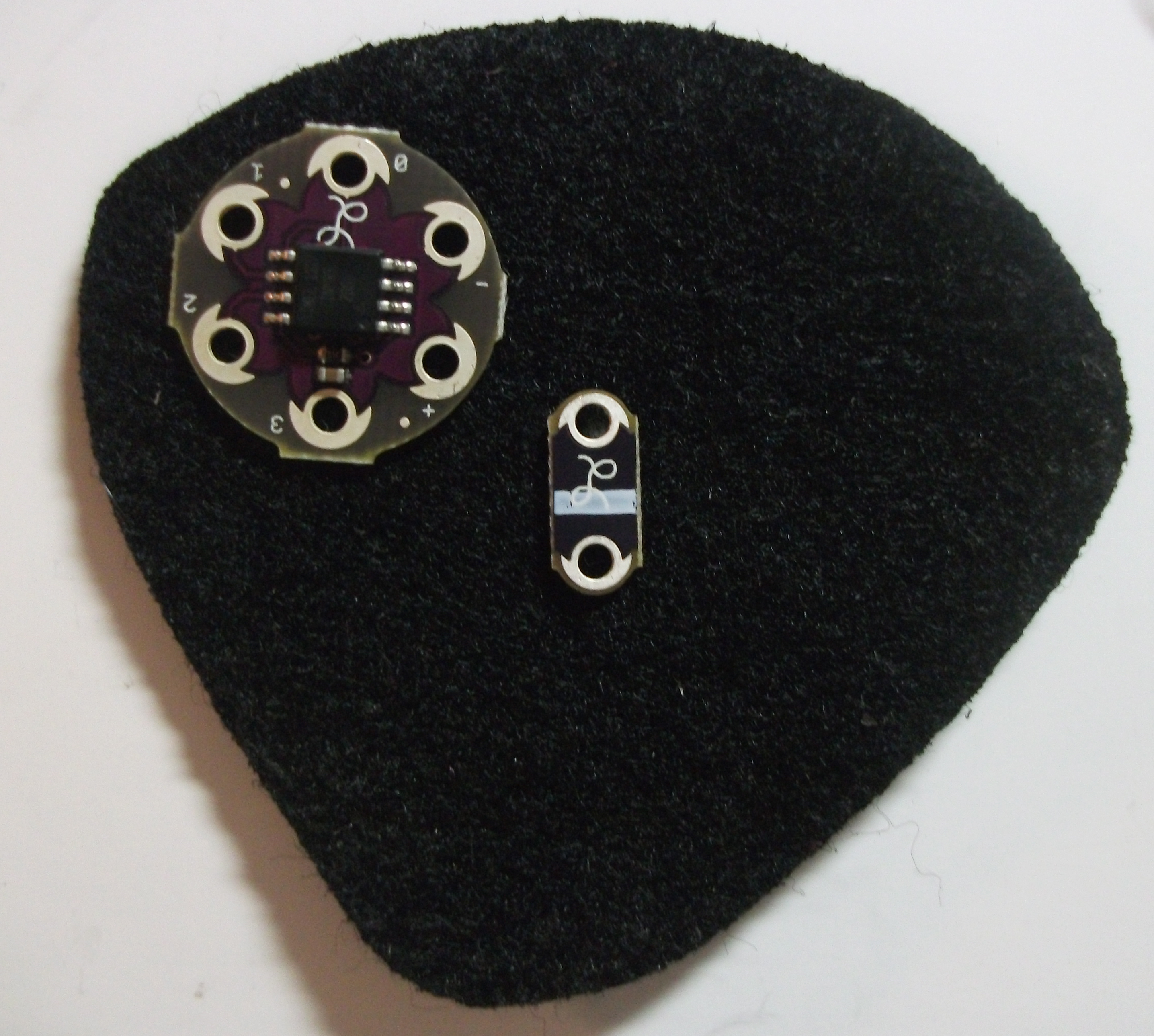 Picture of Setting Up the Back LED Layer - LED and Twinkle Board