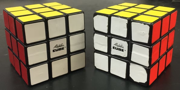 Congratulations!  You've Solved the Cube!