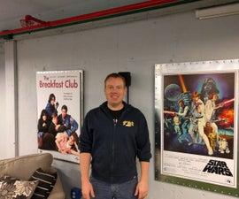 Metal Framed Movie Posters