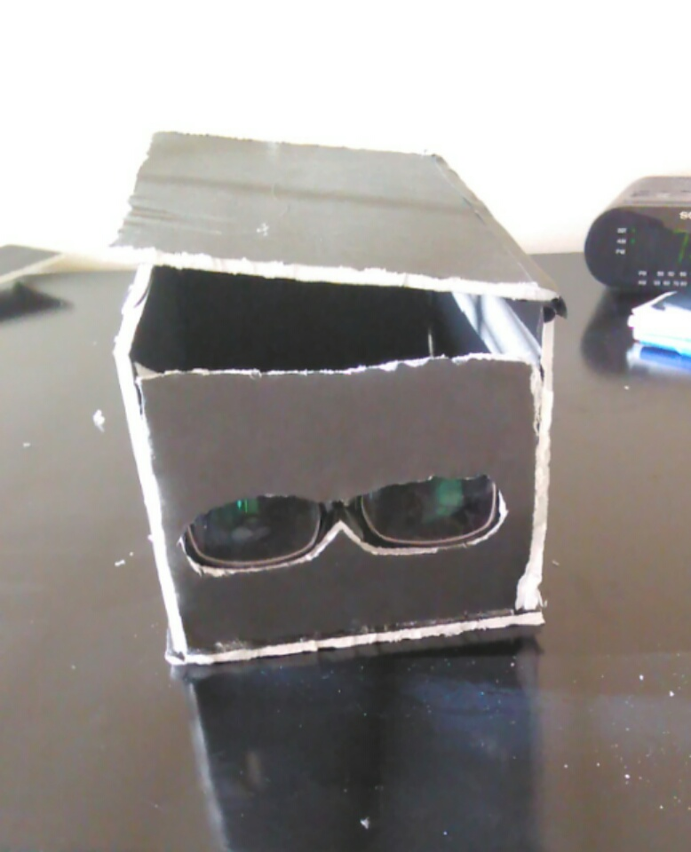 Picture of  Super Glasses Portable Smartphone Projector