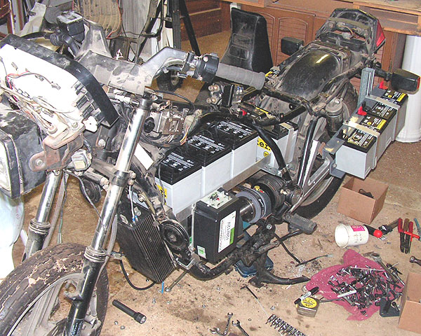 Picture of Putting on the DC/DC Converter & Throttle