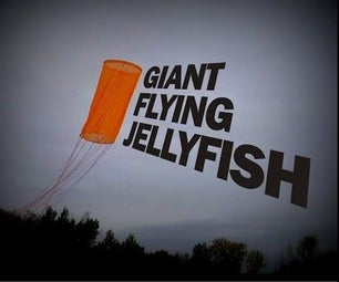 Giant Flying Jellyfish