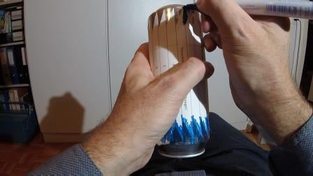 Making the Wind Spinner
