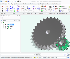 3D models of gears for 3D printing