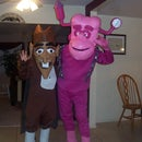 Halloween 2008 - Monster Cereal Franken Berry and Count Chocula (inspired by and thanks to pokiespout)
