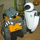 Coolest Homemade Wall E & Eve Costumes