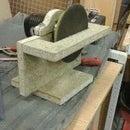 Body work sander made in to a edge sander