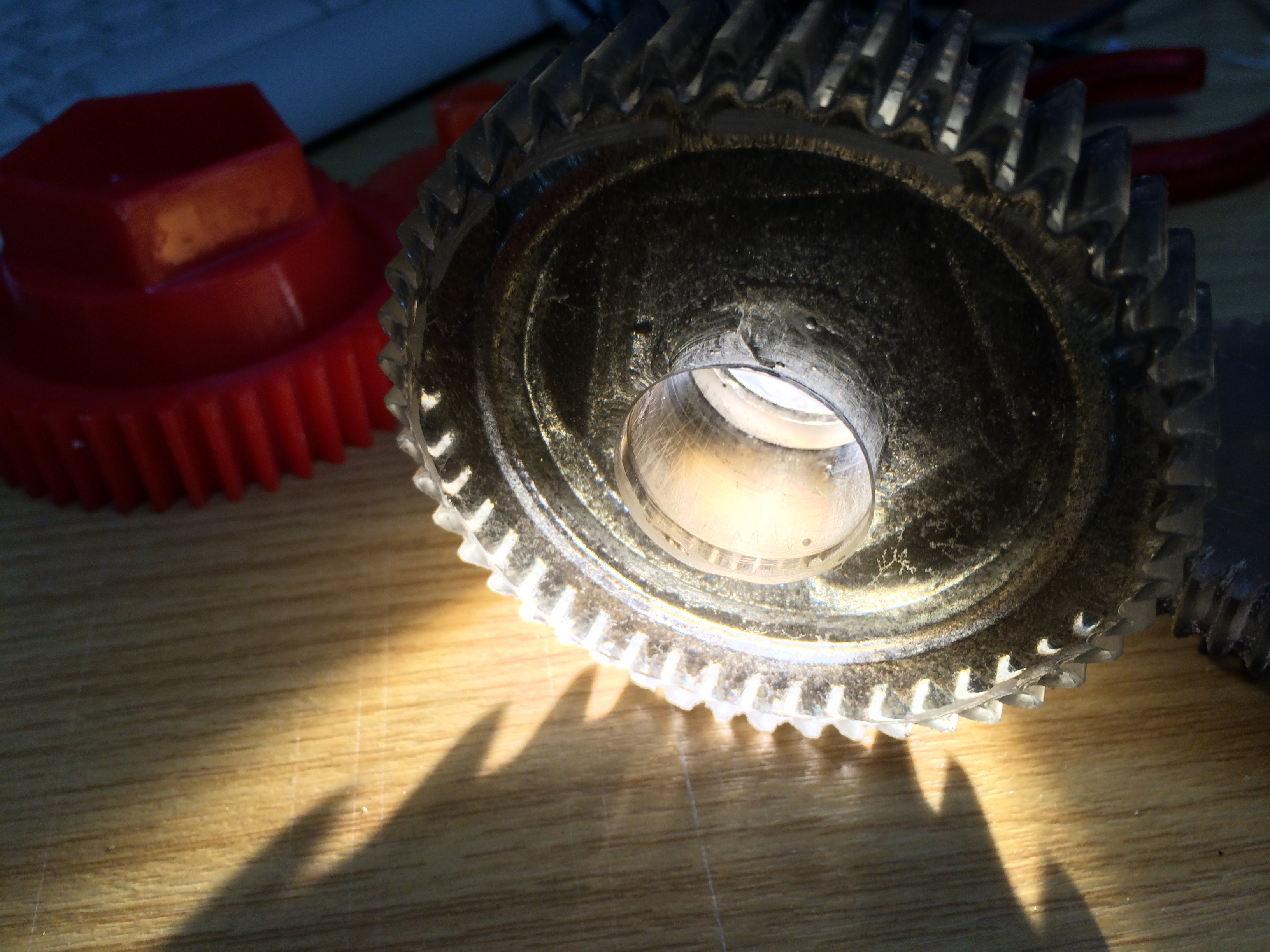 Picture of 5. Pulling Out the Gears, Cleaning, Polishing