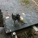 Scratch-built R/C Fanboat, Part 1: Construction.