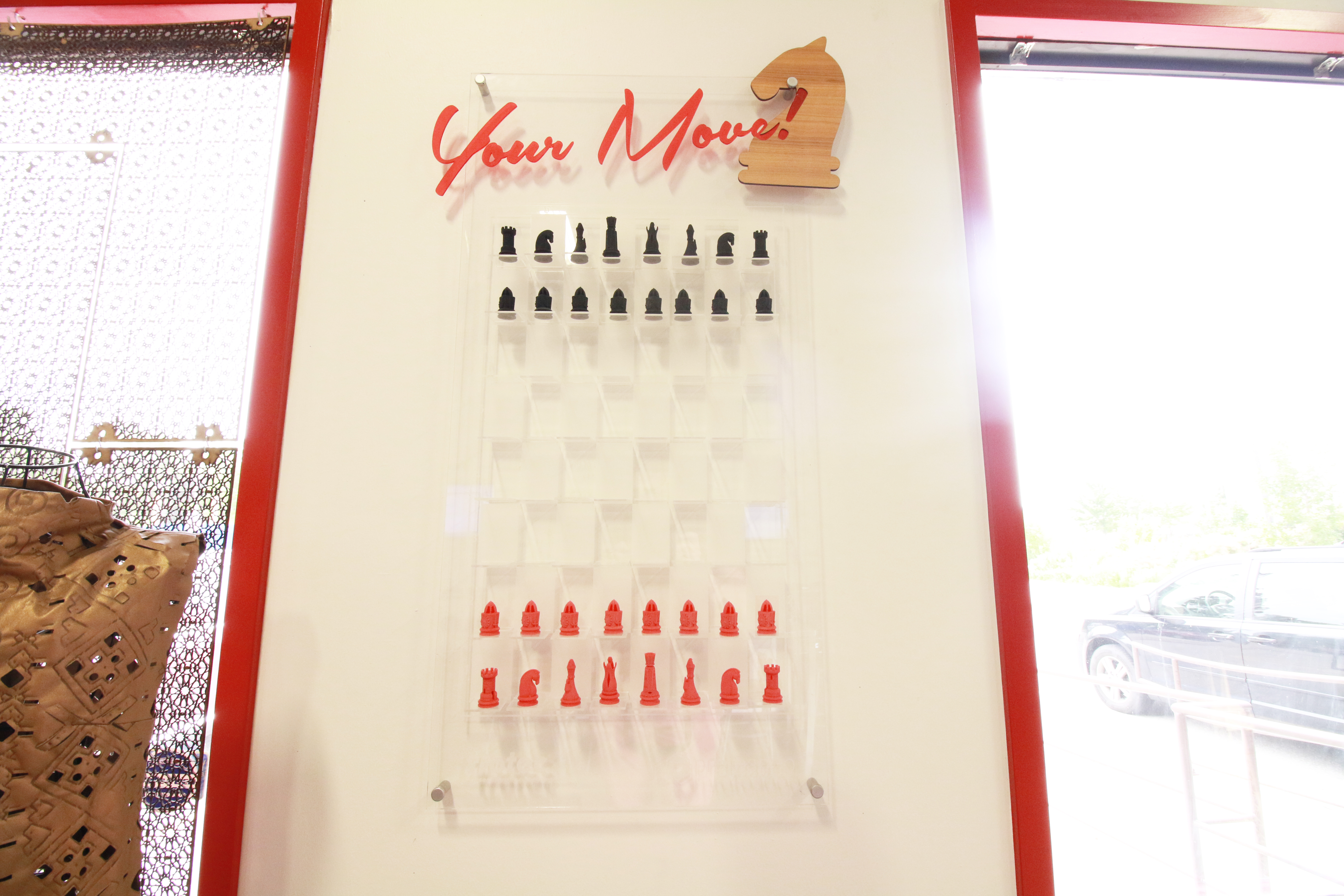 Picture of Acrylic Vertical Chess Set | 3D Printed and Laser Cut