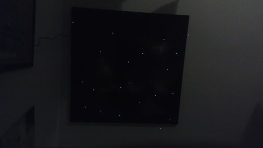 Picture of Cosmos With LED Stars in 3D