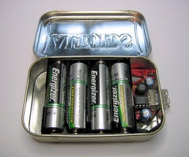 Double Capacity MintyBoost with 4-AA Battery Holder Modification