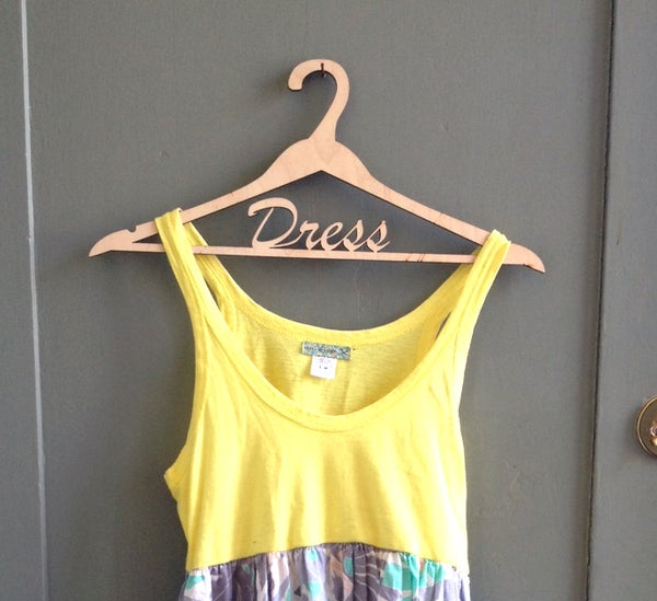 Custom Wood Clothing Hangers