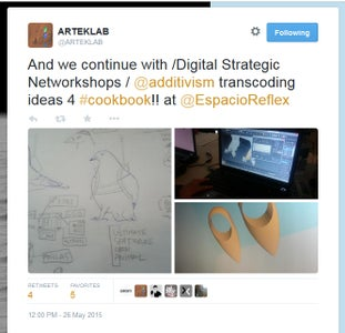 Share Online and Submit to the 3D Additivist Cookbook