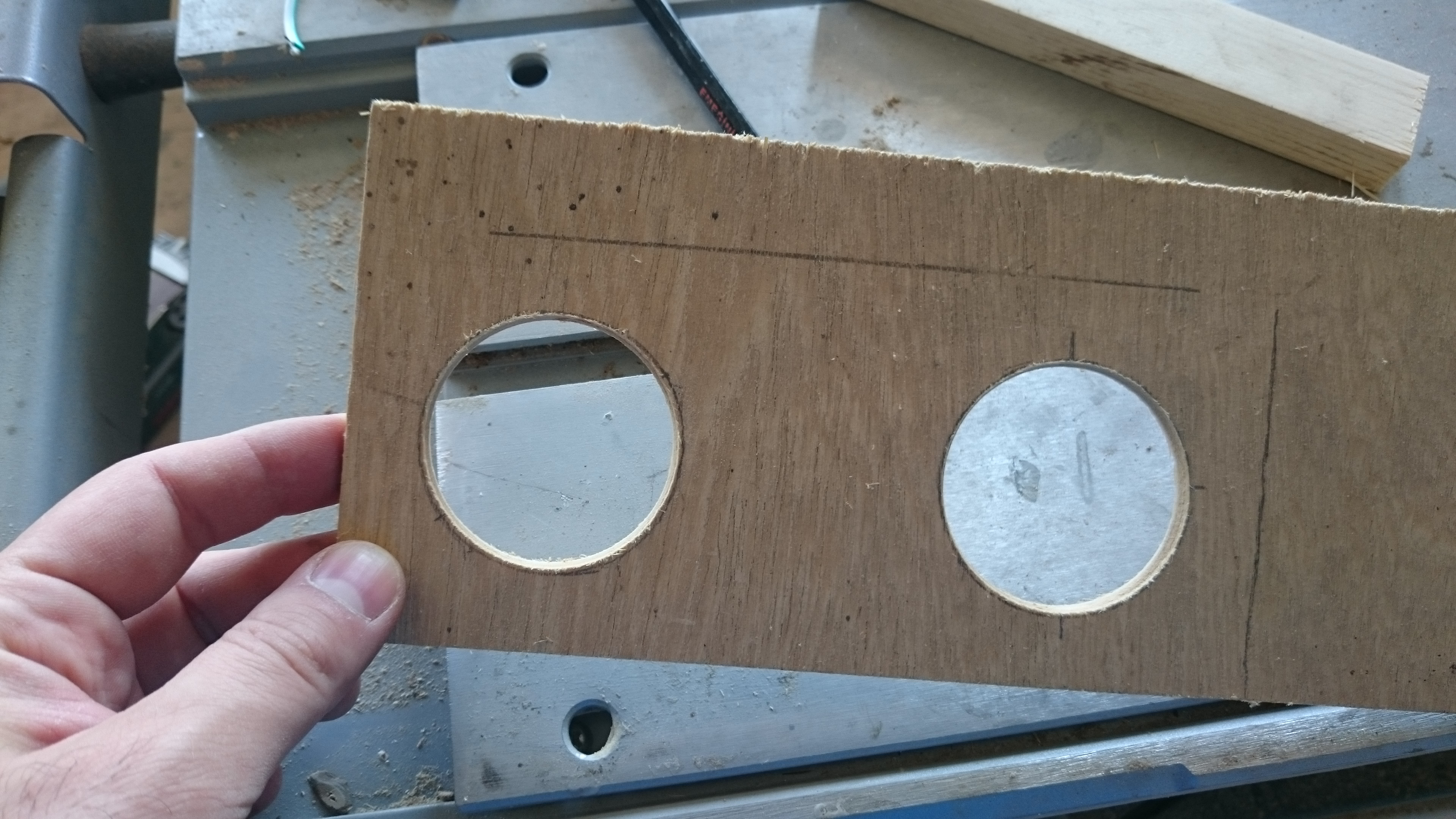 Picture of Wooden Enclosure Making Process