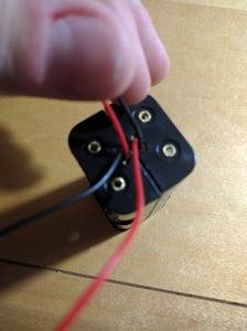 Assembling the Battery Holder