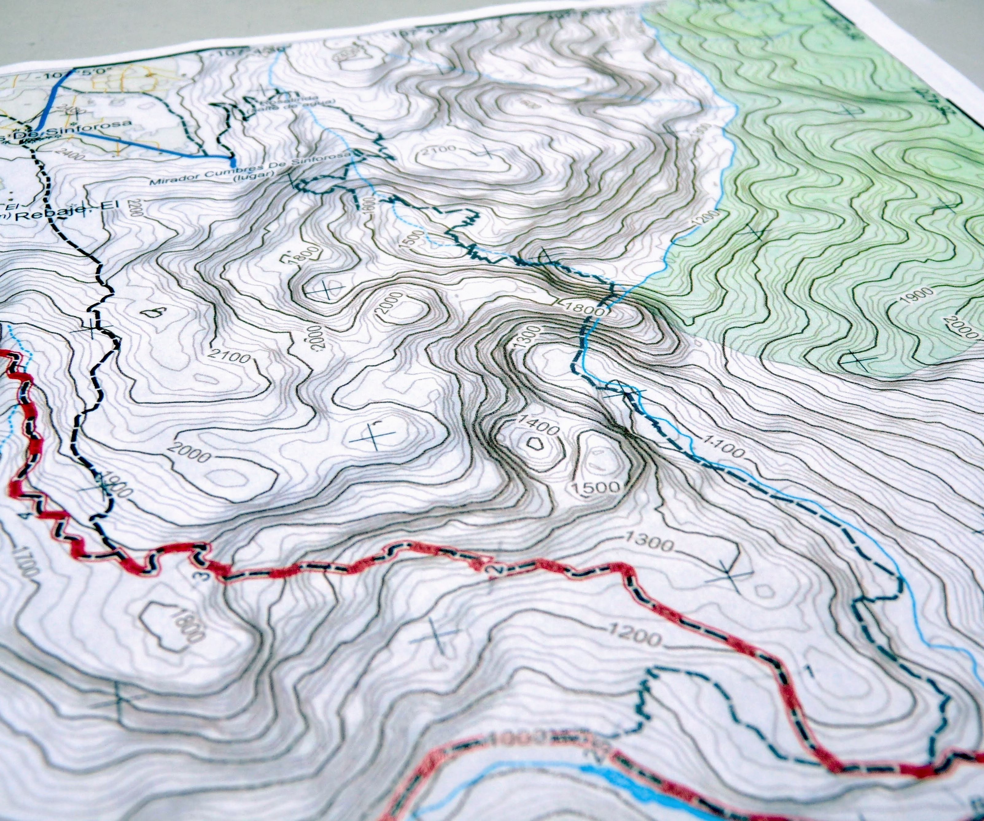 topographic map of my area How To Create Your Own Topographic Map 17 Steps With Pictures Instructables