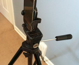 DIY iPhone / Smartphone Tripod connector